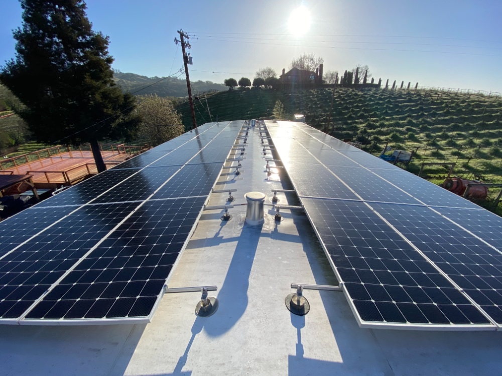 smart agricultural solar panel cleaning
